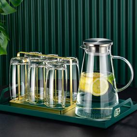 进口家用客厅水具轻奢简约茶杯套杯