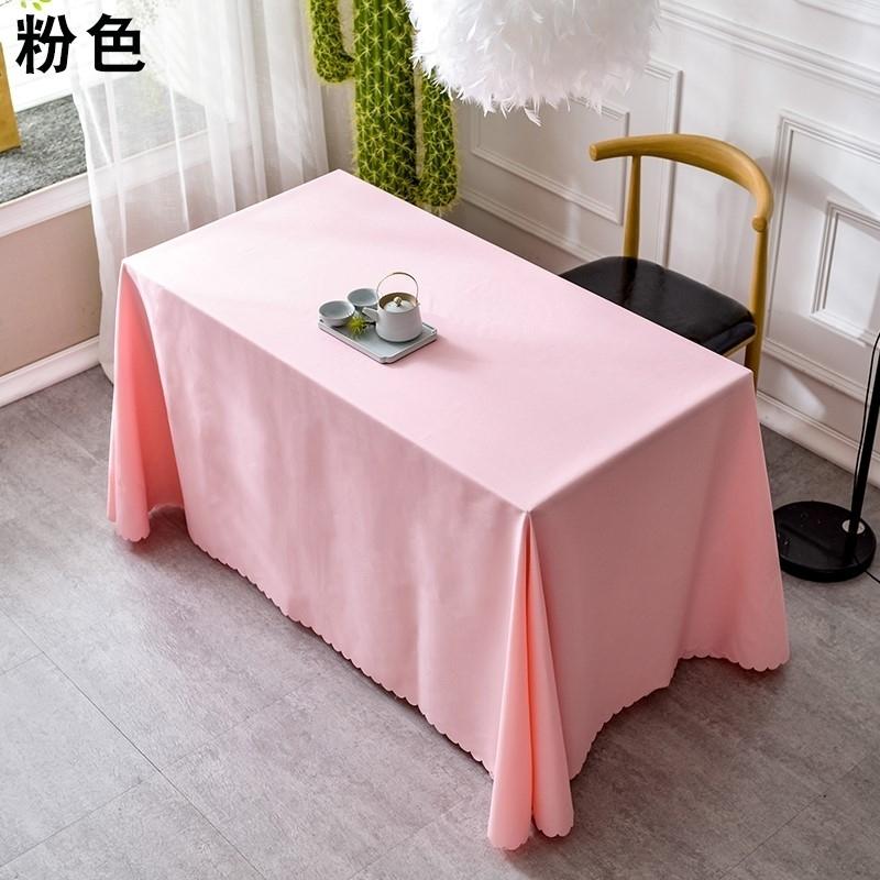活动布置桌布地摊布摆摊专用书法纯色台布长方形长款落地广告桌布