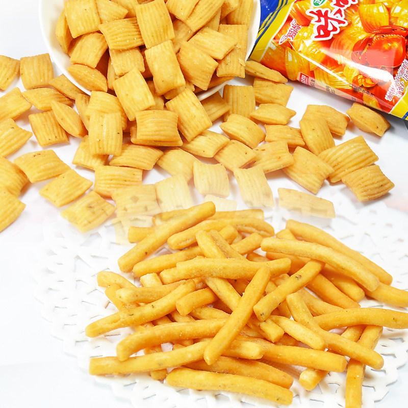 【咪咪-咪咪大禮包1360g】蝦條零食 店小吃特產膨化食品鍋巴