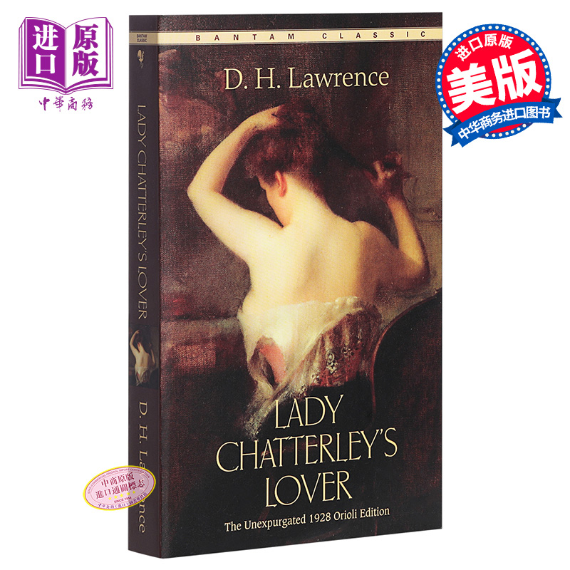 【中商原版】[英文原版] Lady Chatterley's Loverr查泰莱夫人的情人/劳伦斯