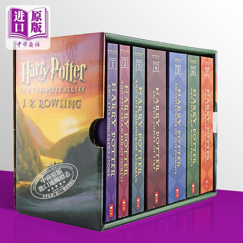 【中商原版】哈利波特全集 英文原版小说 英文版 全套 Harry Potter 1-7英文原版书 美版经典版