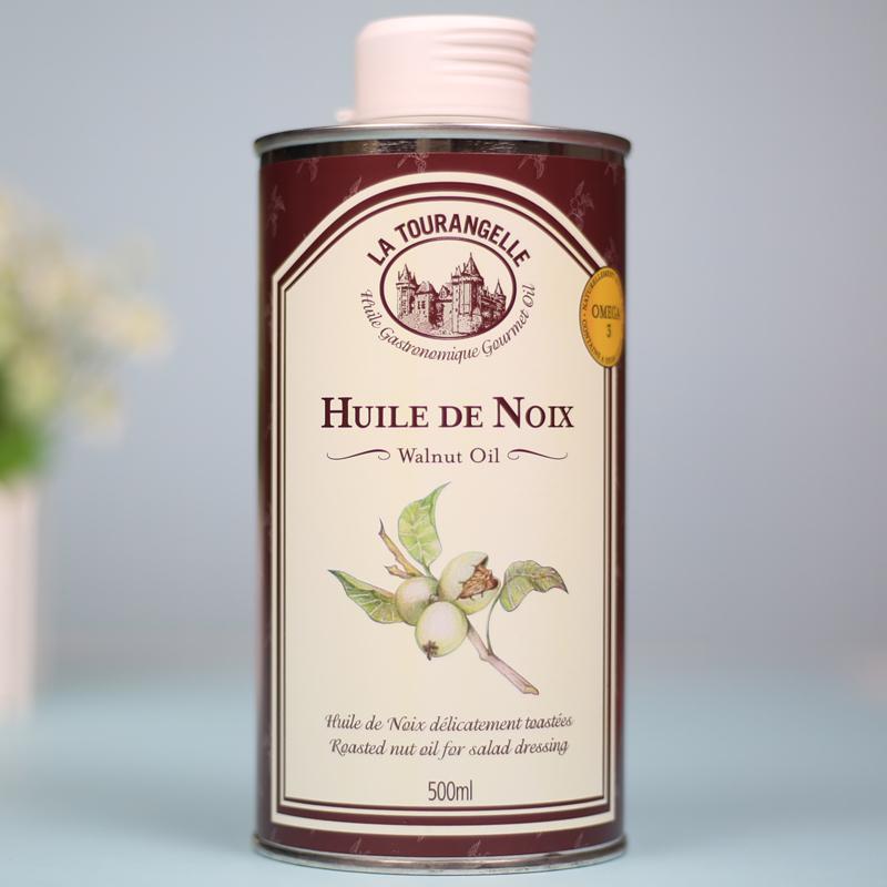 法国La Tourangelle拉杜蓝乔进口婴儿核桃油宝宝DHA搭配食用油