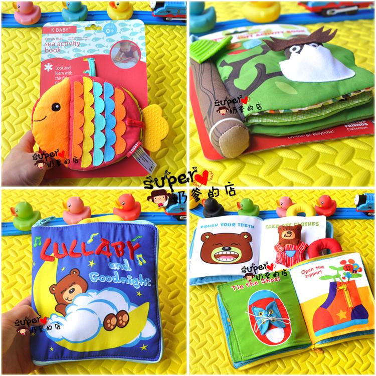 Бесплатная доставка животное ребенок головоломка обучения в раннем возрасте игрушка ребенок трехмерный ребенок рвать неплохо ткань книги игрушка 0-1-3 лет