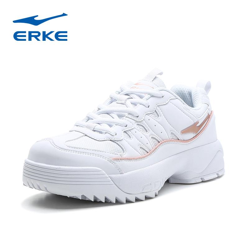 鸿星尔克女鞋跑步鞋休闲运动鞋子春季学生断码红星官网打折扣店。