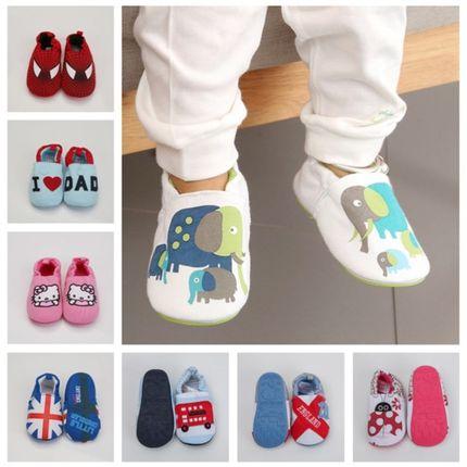 秋冬婴儿鞋子男女宝宝学步鞋防滑0-1-2岁加绒保暖不掉软底地板鞋