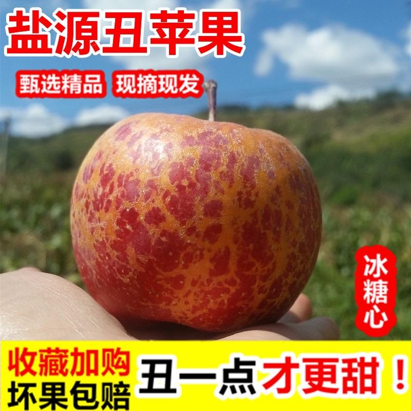 2021今四川大凉山の特产の塩源氷砂糖の心の丑いリンゴを摘んで、旬の妊婦果物を包んで郵送します。