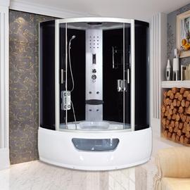 整体淋浴房洗澡沐浴房带浴缸浴室洗浴间桑拿房钢化玻璃一体式浴盆