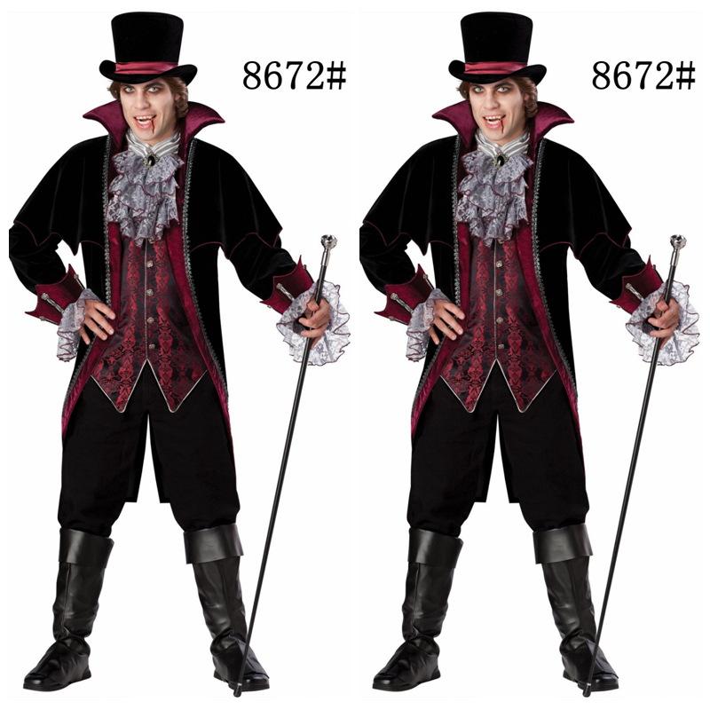 2013年新款吸血鬼伯爵服 万圣节cosplay服装 出口欧美游戏服