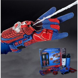超凡蜘蛛侠发射器手腕可喷丝吐丝喷水喷射蛛丝蛛网手套儿童玩具图片