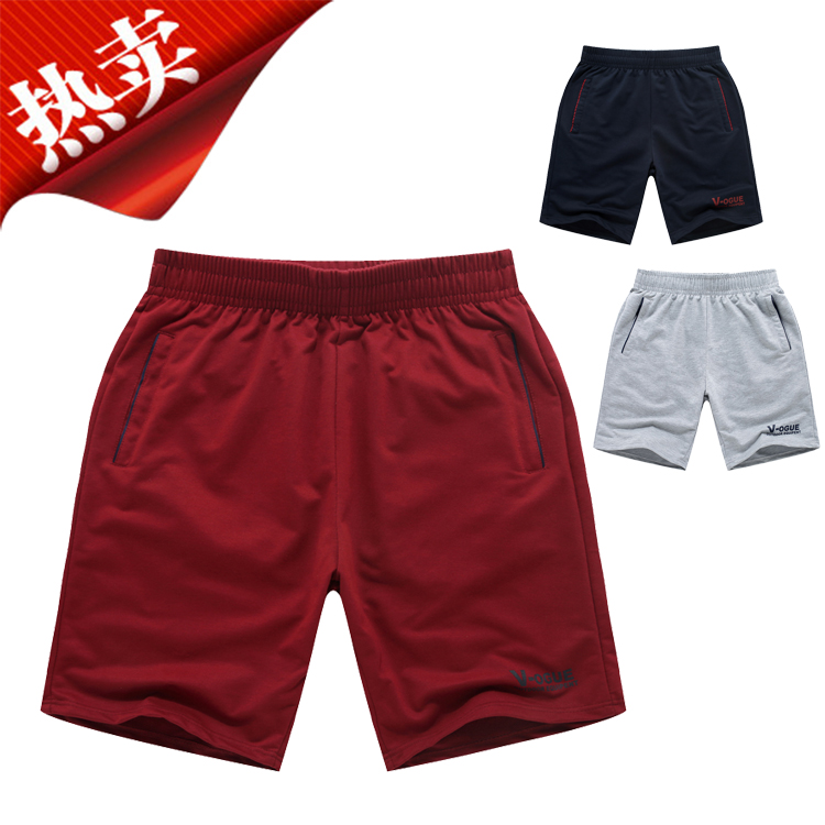 [special price every day] sports shorts running breathable, sweat absorbing, blue ball plus size, Capris, casual shorts, mens fashion