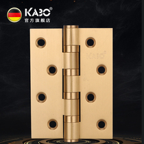 German Kabo Pure Copper hinge 4 inch Quantongping open loose-leaf door folding wooden door hinge mute bearing