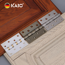 German Kabo hinge Stainless steel folding indoor wooden door loose-groove hinge folding 4 inch