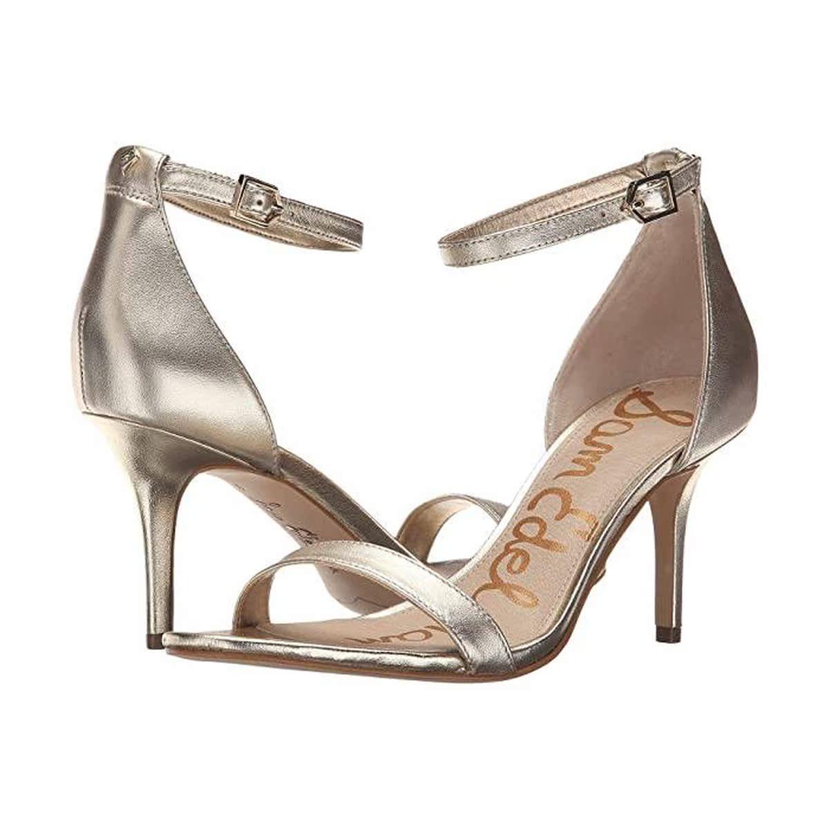 代购Sam Edelman/山姆爱德曼女Patti 踝带高跟凉鞋时装凉鞋ins潮