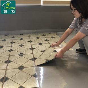 地板革加厚耐磨防水毛坯房家用水泥地垫地贴自粘卧室pvc地板贴纸