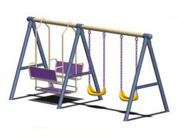 幼儿园游乐场小区儿童户外滑梯秋千架室内外组合大型秋千架