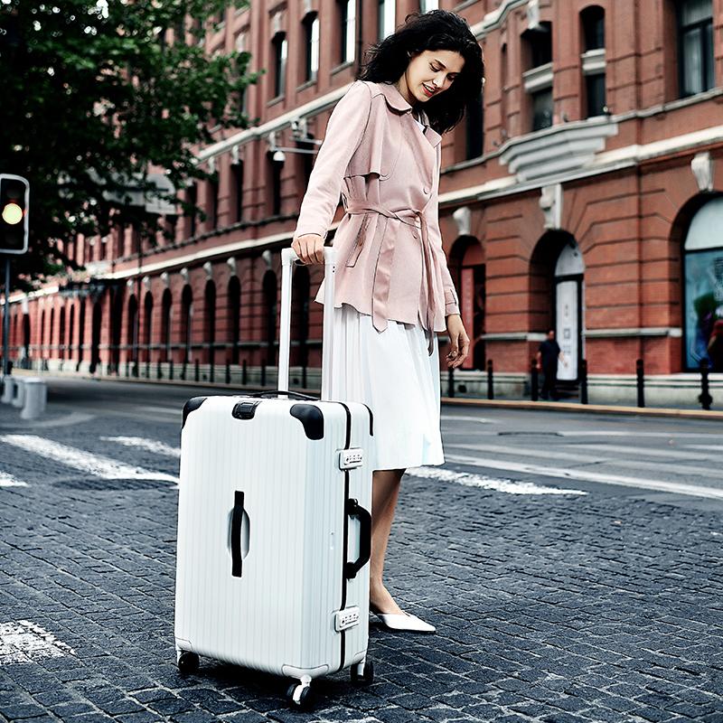 铝框拉杆箱行李箱万向轮男女密码箱韩版学生特价复古小清新登机箱