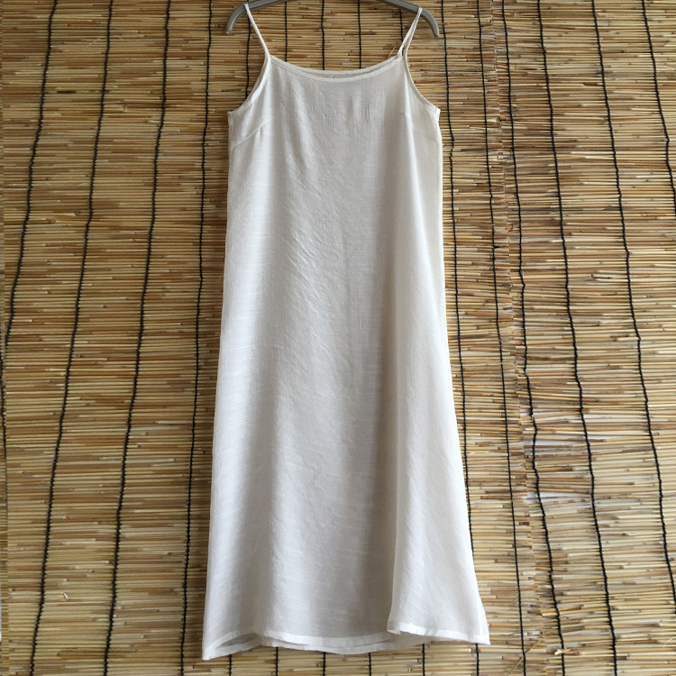 Cotton and hemp original womens Vest summer loose oversized top