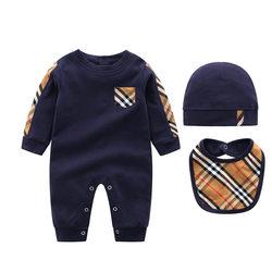 儿童婴儿连体衣春秋外出10个月7男婴时尚6衣服秋装外穿宝宝男童潮