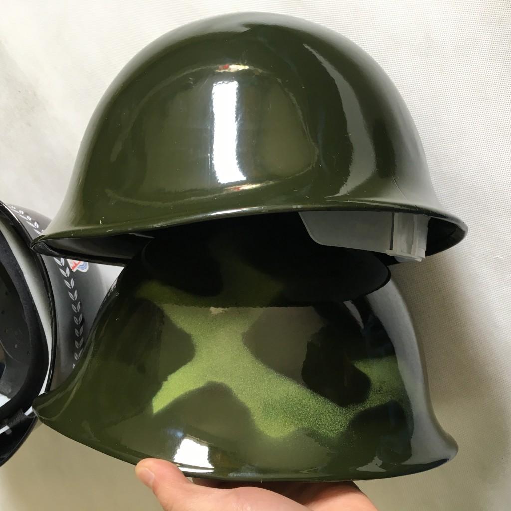 Шлем для шлема для мотоциклов полностью Вентиляторы стального шлема шлема цвет шлет армию стиль Военные болельщики мужской Половинный шлем