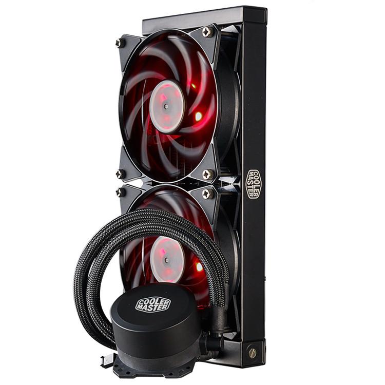 酷冷至尊冰神b240 CPU水冷散热器风扇台式机电脑一体式水冷