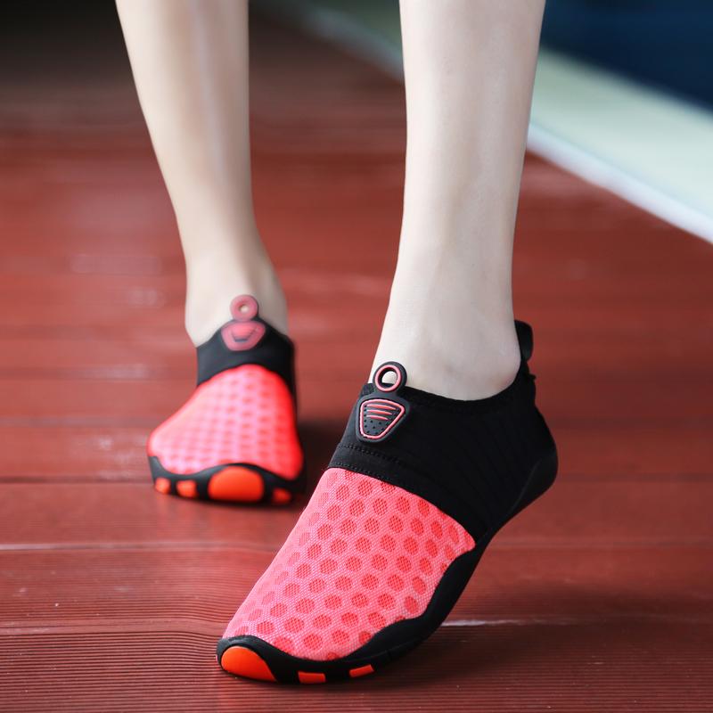 运动鞋女健身房专用室内瑜伽鞋跑步机鞋跳绳防滑女深蹲训练袜子鞋