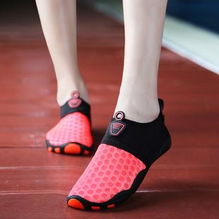 运动鞋 跑步机鞋 跳绳防滑女深蹲训练袜子鞋 女健身房专用室内瑜伽鞋