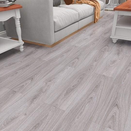 北欧原木現代灰色複合床12 mm家庭環境保護防水耐摩耗強化床メーカー直販
