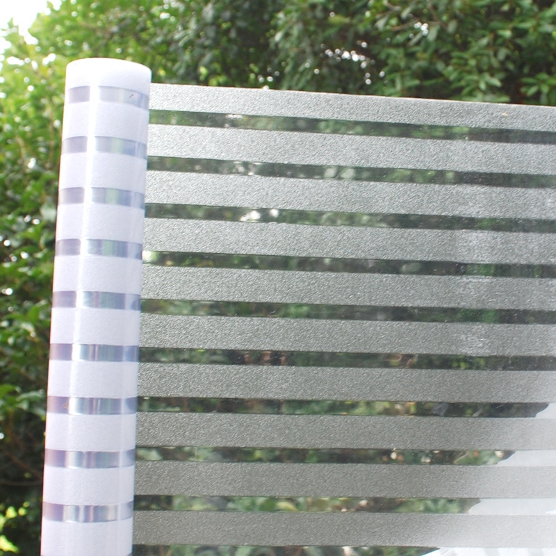 免胶玻璃贴膜办公室条纹玻璃门贴纸质量怎么样