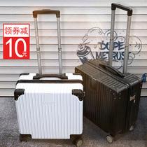 寸韩版抖音18网红轻便小型拉杆密码旅行箱子女小号男潮ins行李箱