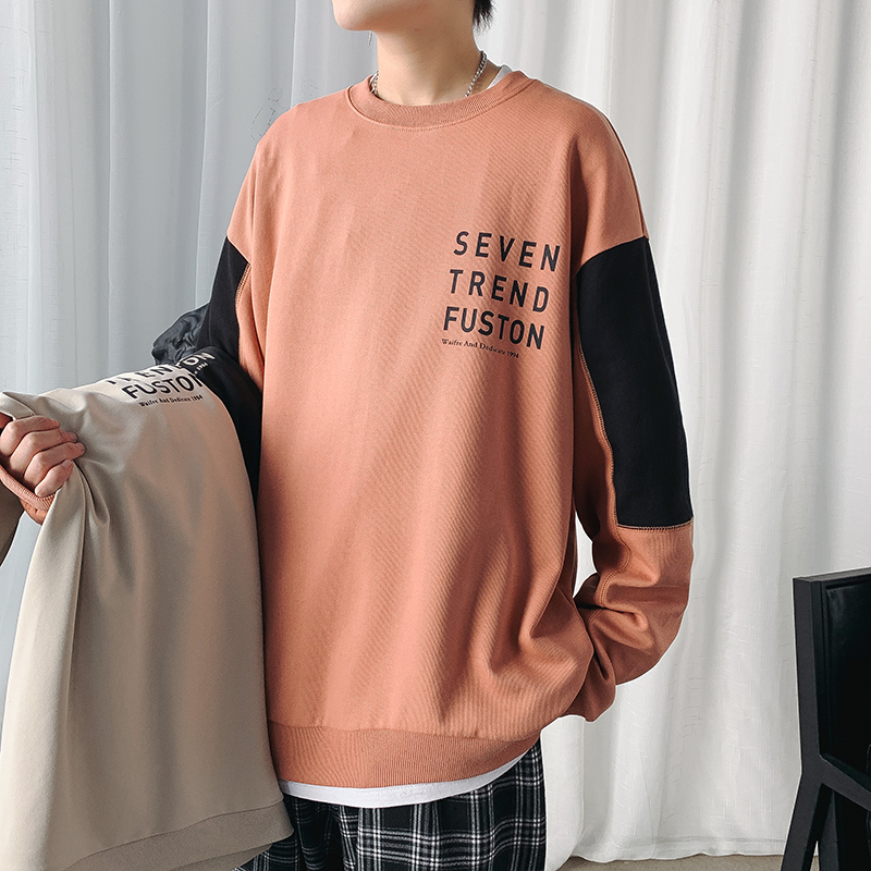Long sleeve t-shirt mens inner bottom shirt mens top 2020 new spring and autumn sweater mens fashion brand clothes