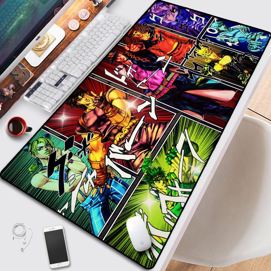 乔乔JOJO的奇妙冒险鼠标垫周边超大防滑锁边乔瑟夫键盘办公书桌垫12月02日最新优惠