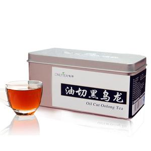 唯茶特级正品油切黑乌龙茶碳焙铁观音 乌龙茶茶叶黑乌龙茶刮油
