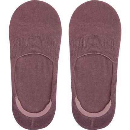 纯棉浅口隐形硅胶防滑薄款床船袜