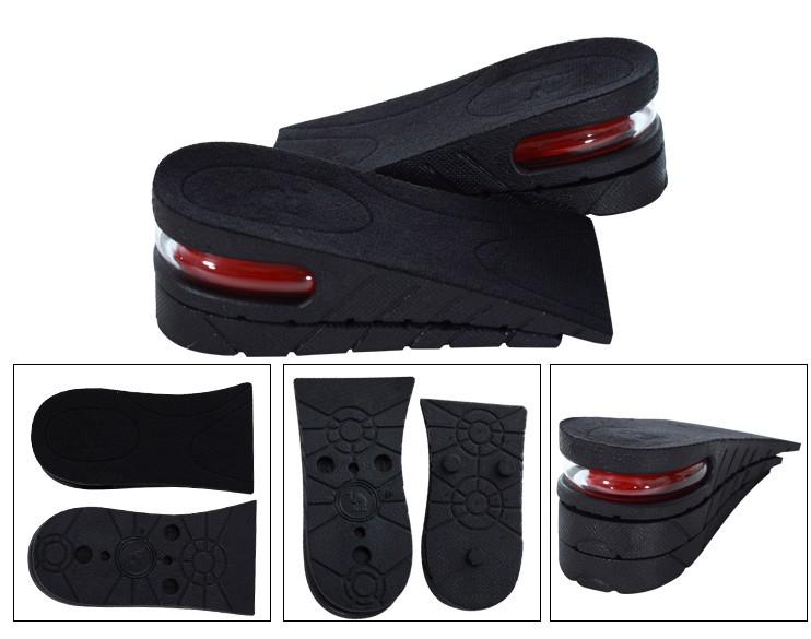 男女款气囊隐形透气全垫内增高鞋垫10.32元包邮
