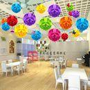 店铺装 旦环创教室布置空中创意花球商场走廊吊饰 饰幼儿园新年元