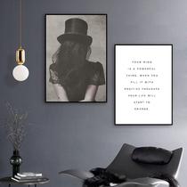 掛畫客廳臥室現代抽象簡約裝飾畫梵高手繪油畫咖啡館三聯組合畫