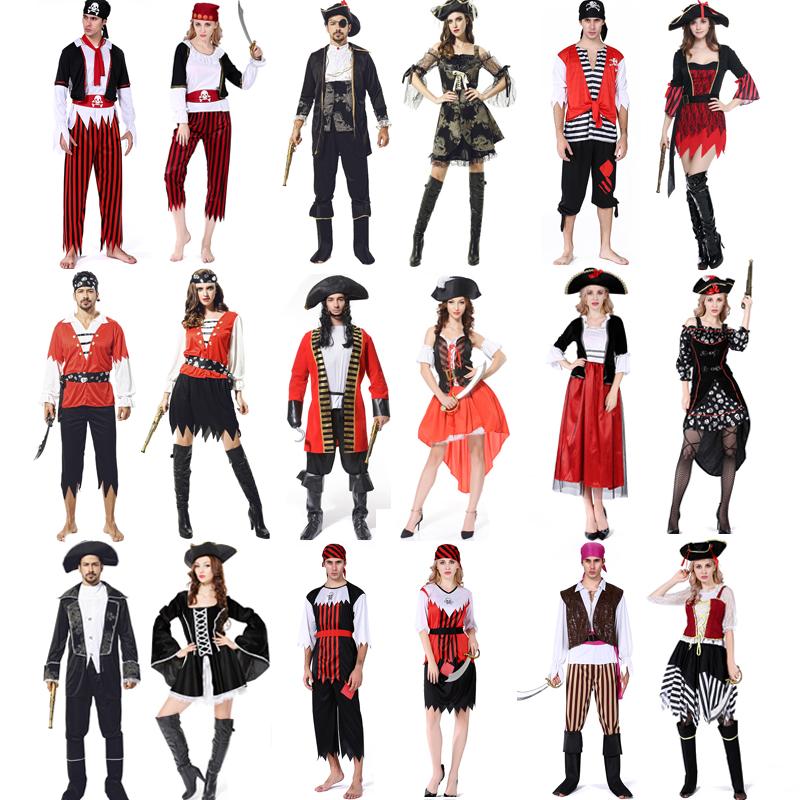 Cosplay Caribbean women Pirate Costume Pirate Costume Adult Captain Jack Costume