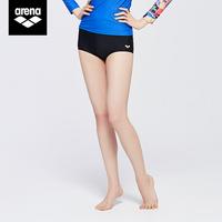 查看arena阿瑞娜女士分体平角健身瑜伽泳裤高弹舒适抗氯短裤游泳裤价格