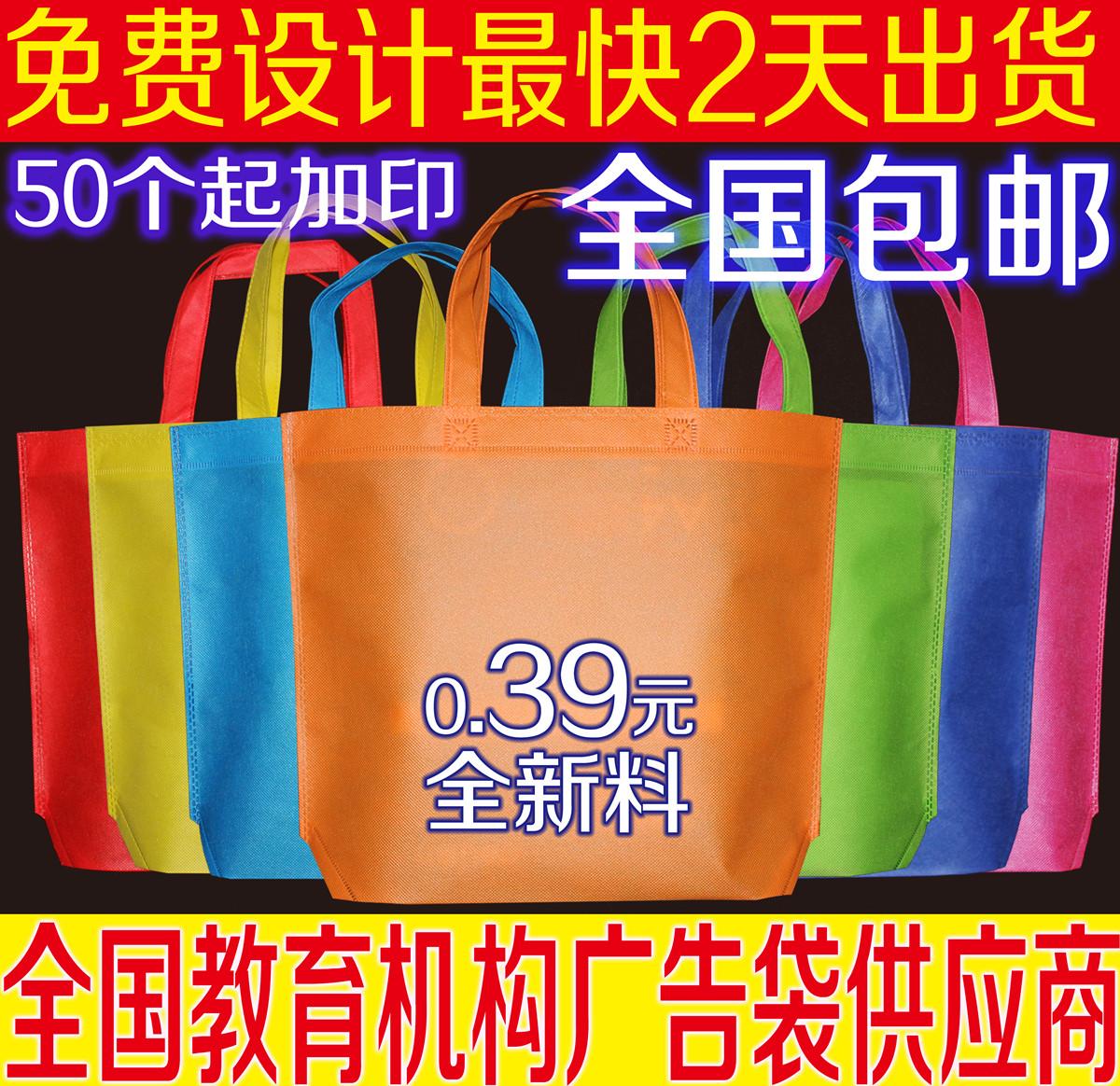 Без Текстильная сумка пользовательских экологических поощрения сумка сумка для покупок может быть напечатана логотип ускоренной рекламы