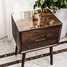 床头柜垫子桌布防水防油免洗pvc透明软塑料玻璃台布茶几餐桌布垫