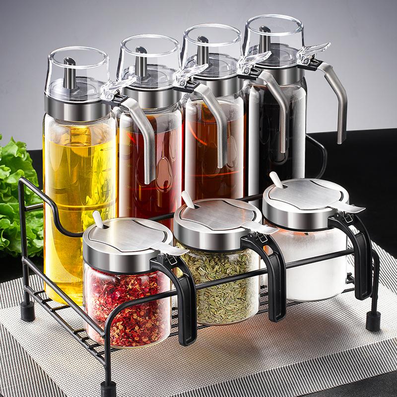 调料组合套装调料盒调料罐子组合装厨房用品家用大全调味料瓶套装