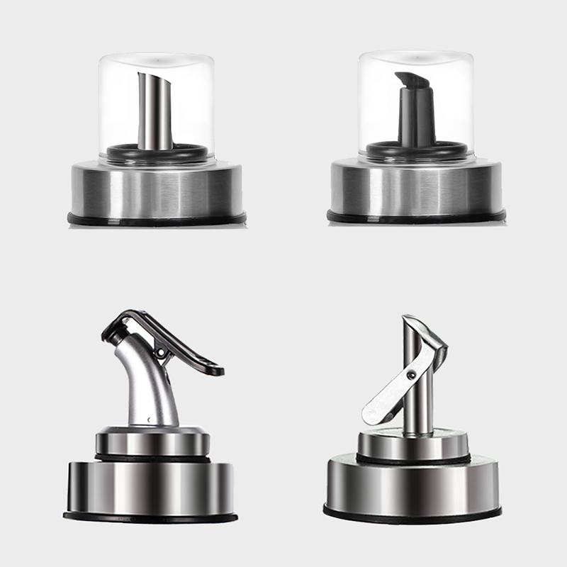 夸克油瓶油嘴塞子油嘴瓶盖子按压式防尘盖防滴漏不挂油厨房用品