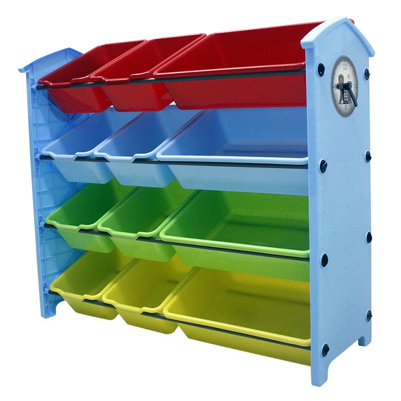 宝宝玩具收纳架箱塑料多层大容量子