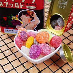 日本进口佐久间罐仔糖宫崎骏再见萤火虫之墓同款罐装水果糖小硬糖