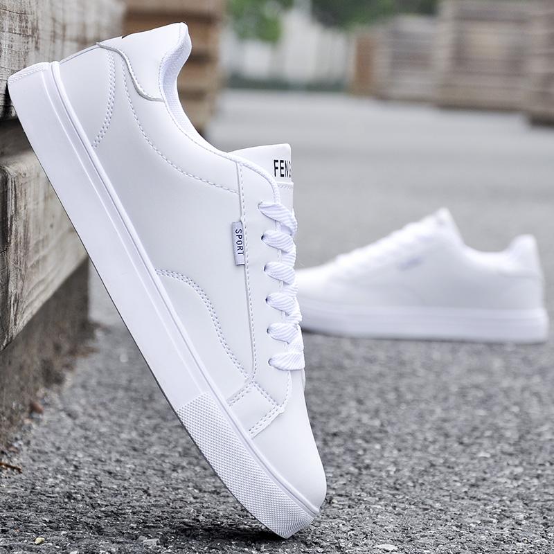 夏季小白鞋子男士休闲鞋白鞋运动板鞋韩版潮流男鞋百搭潮鞋青年鞋