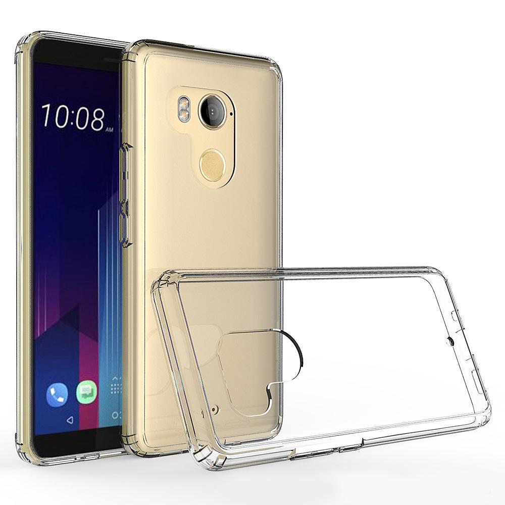 新品HTC U11 Plus手机壳防摔边框保险杠U11+后背透明不发黄保护套