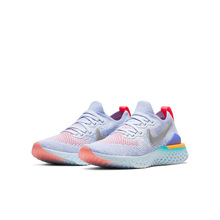 Nike耐克官方NIKE EPIC REACT FLYKNIT 2 (GS)大童跑步童鞋AQ3243