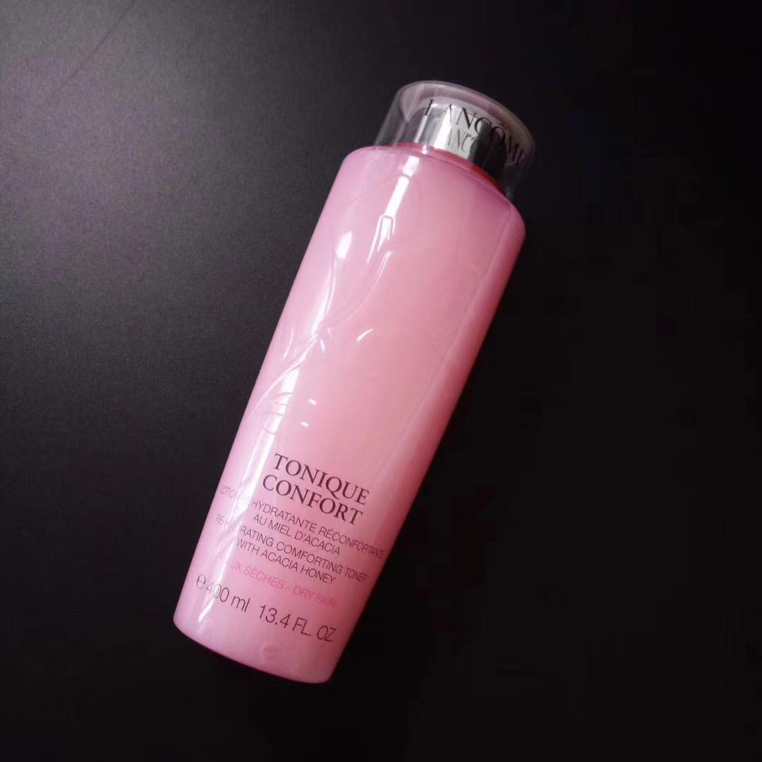 荣儿兰蔻清滢柔肤水400ml玫瑰大粉水 敏感肌保湿化妆爽肤水