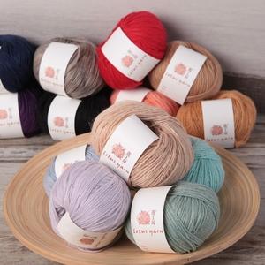 莲工房定牌进口羊驼链条中细线羊绒羊毛围巾帽子披肩有群价