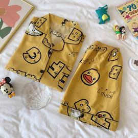 冰丝睡衣女夏季短袖薄款冰丝绸学生可爱家居服韩版性感夏天两件套